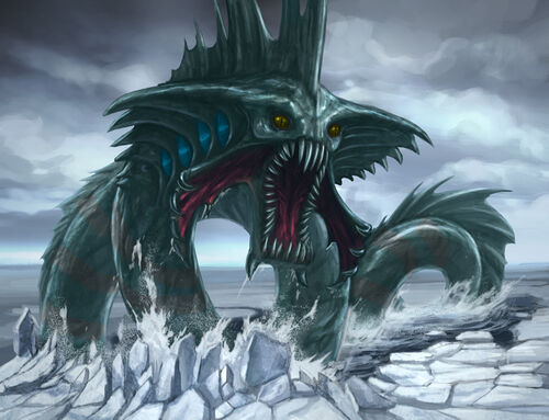 Sea serpent boss