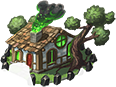 Witchs hut icon