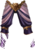 Pants purple lion