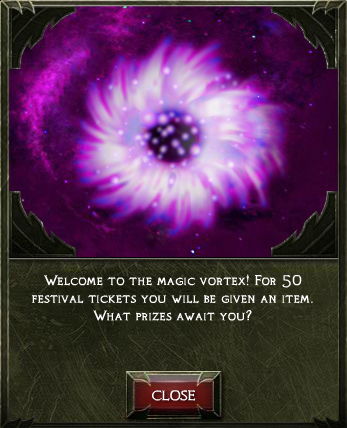 Fodd magic vortex