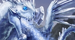 Frost the snow dragon small