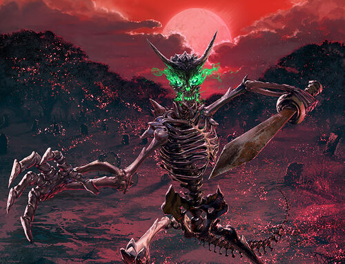 Demonic skeleton