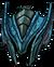 Cyan Reaver Helm