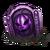 Pumpkin night gravestone purple