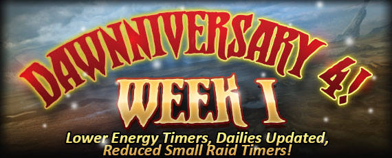 Scroller anniversary week 1