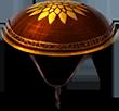 Helm enlightened golden garden