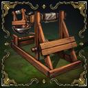 Siege catapult catapult