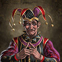 The jovial jester