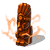 Lightning totem orange