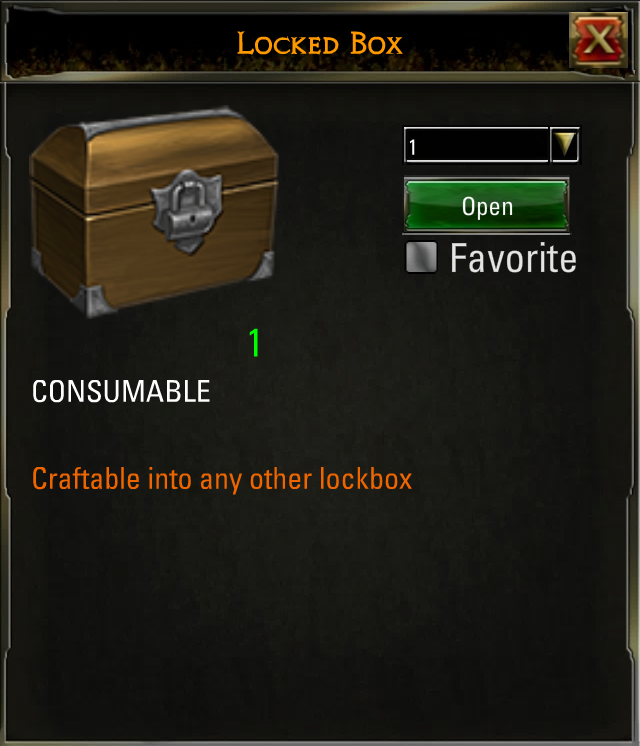 Locked Box dotd