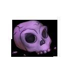 Skull purple