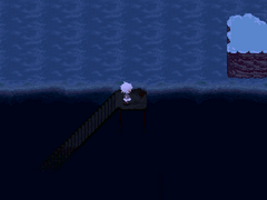 UnderwaterStarryPierStairs