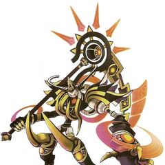 Avatar Skeith: Second Form, used by the Adept Rogue Haseo.