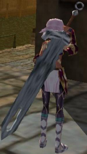 Espada de tierra (Arma para Espada pesada)