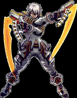 Haseo Dual Gunner GU