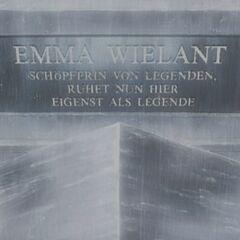 Emma's Gravestone