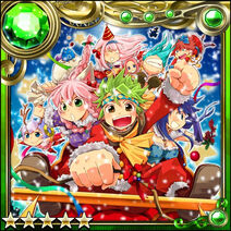 Guilty Dragon Christmas Card