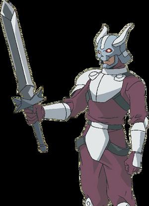 Caballero de plata