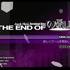 G.U. Terminal Disc THE END OF THE WORLD