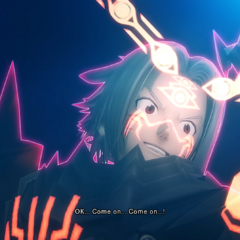 <center>Haseo summoning Skeith in his 3rd form.</center>