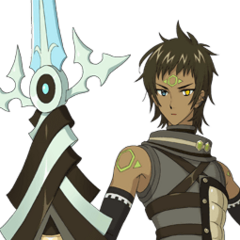 Albireo's Facial expressions (<i>with weapon</i>).