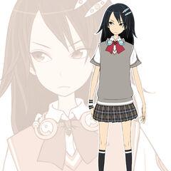 Saika's Concept Art.