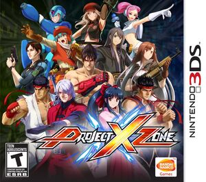 Project X Zone 3DS Cover