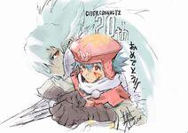 Yoshiyuki Sadamoto DD And Kite