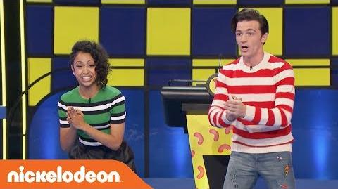 Drake Bell Competes in a Pizza Challenge 🍕 All New Double Dare Week 5 Nick
