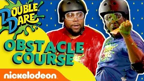 Kenan & Kel Take on the Double Dare Obstacle Course Nick