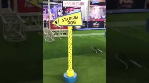 """Double Dare - """"Double Dare at Super Bowl"""" Obstacle Tour"""