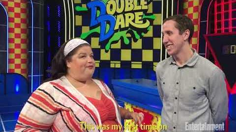 Marc Summers and Liza Koshy discuss the new 'Double Dare' - Entertainment Weekly