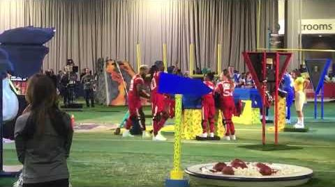 """Double Dare - """"Double Dare at Super Bowl"""" After Challenge"""