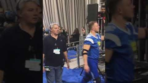 """Double Dare - """"Double Dare at Super Bowl"""" Players entering"""