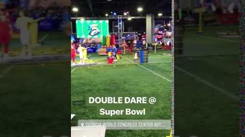 "Double Dare - ""Double Dare at Super Bowl"" Taping"