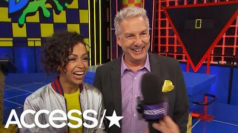 Liza Koshy Says It Was So 'Surreal' To Have Kenan & Kel On 'Double Dare'b Access