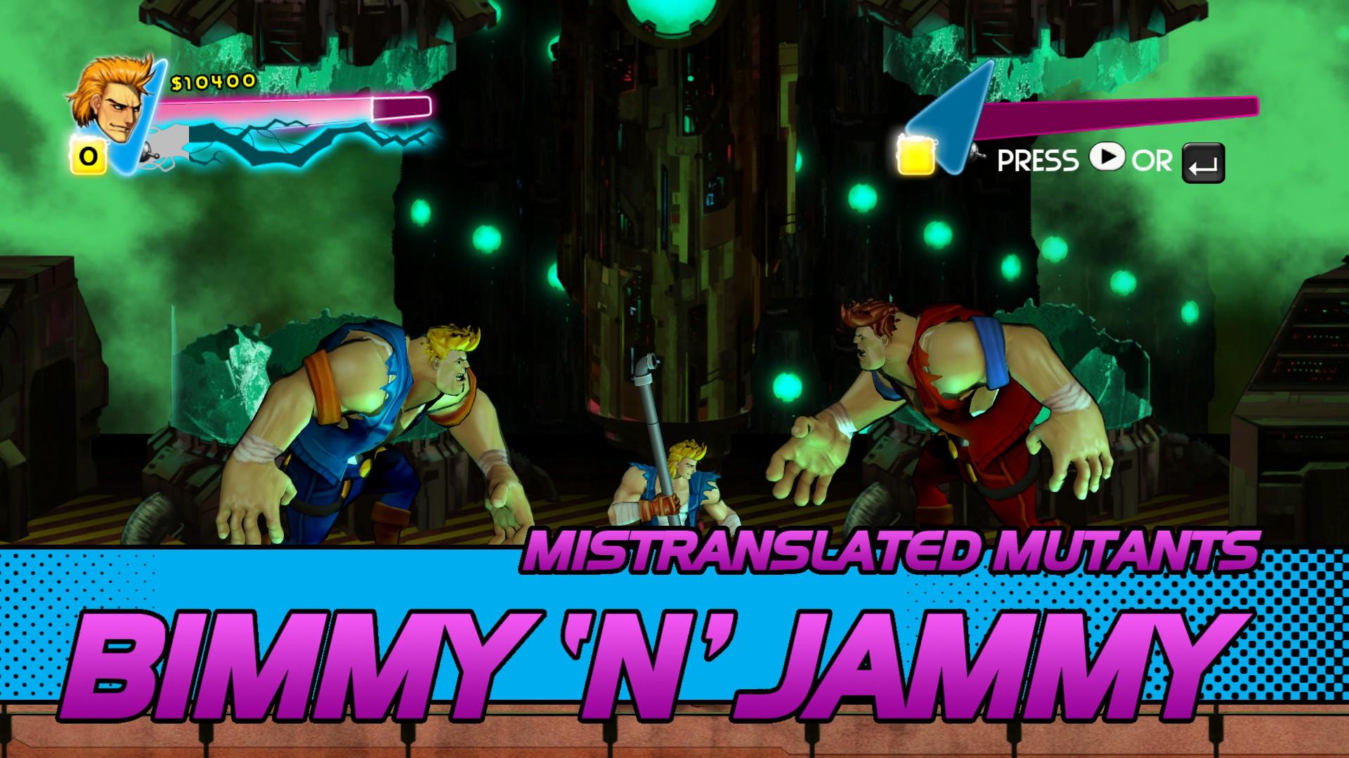 Bimmy N Jammy Double Dragon Wiki Fandom