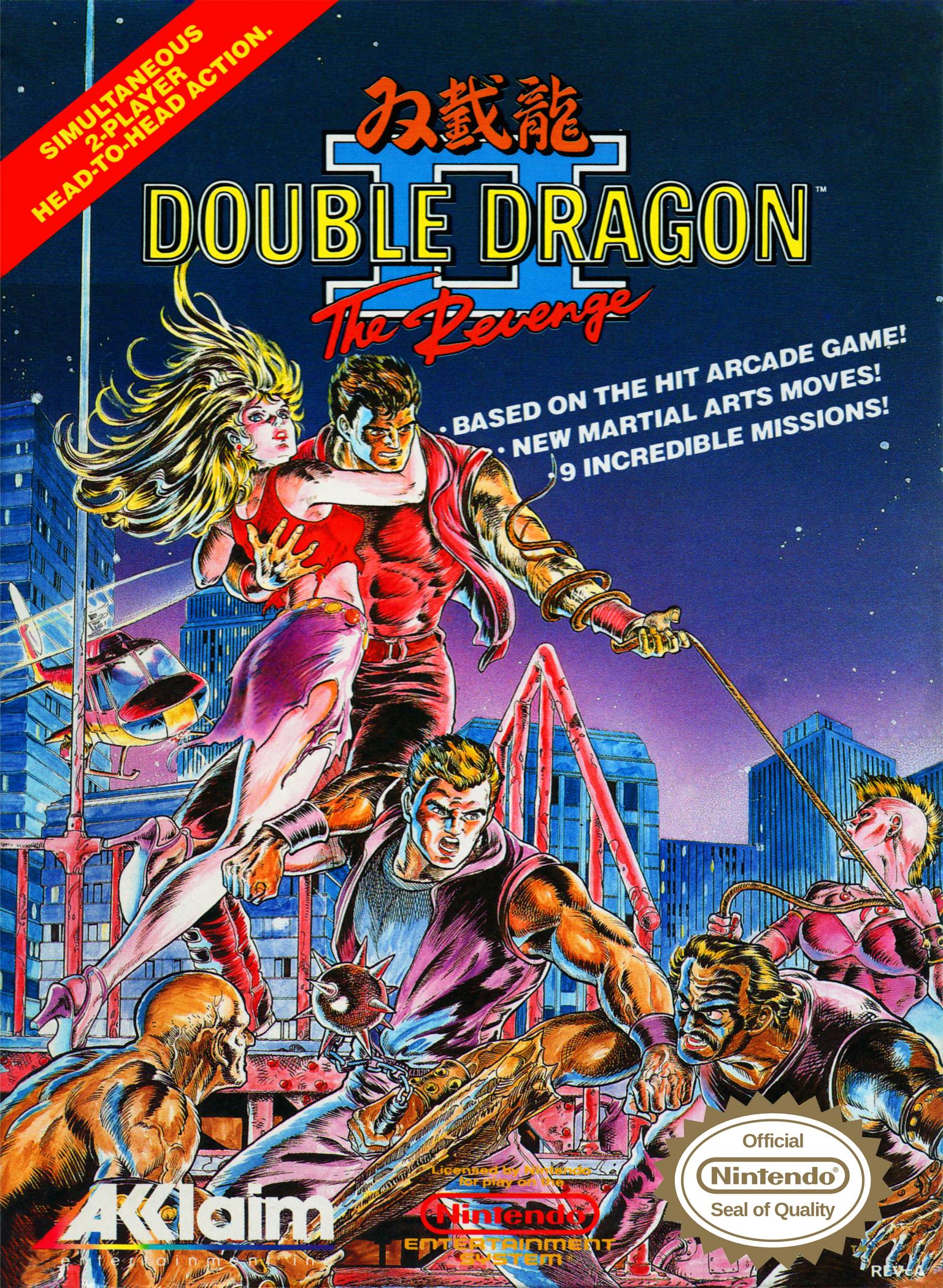 Double Dragon Ii The Revenge Nes Double Dragon Wiki Fandom