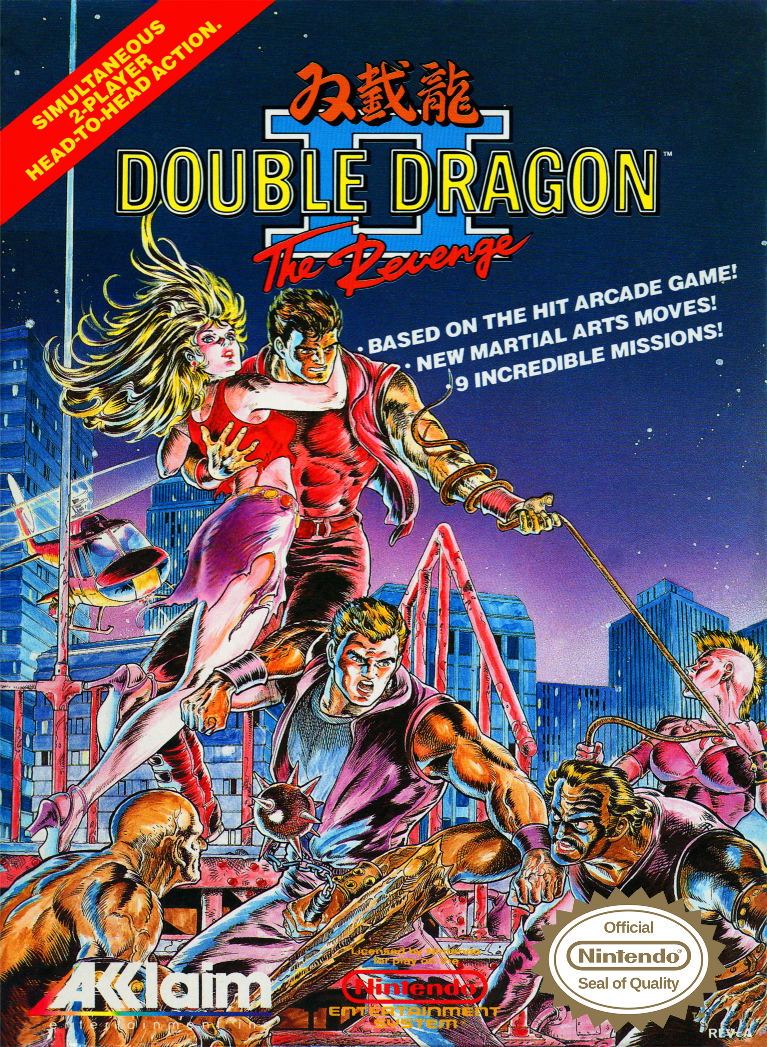 double dragon nes enemies