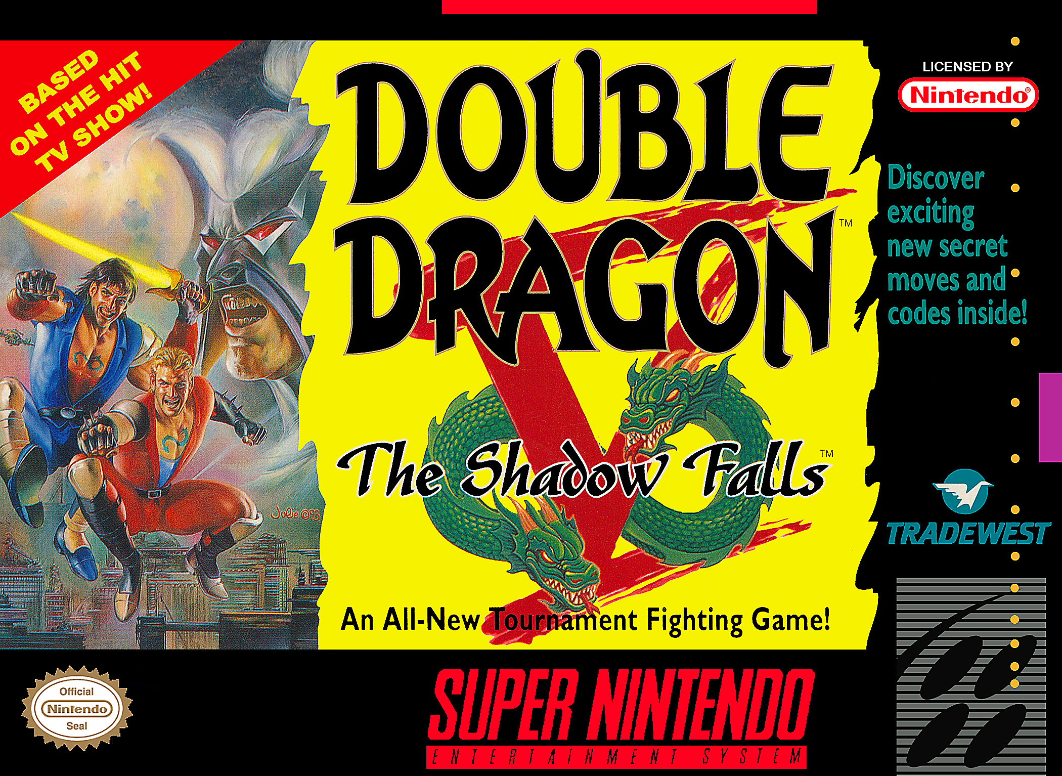 Double Dragon V The Shadow Falls Double Dragon Wiki Fandom