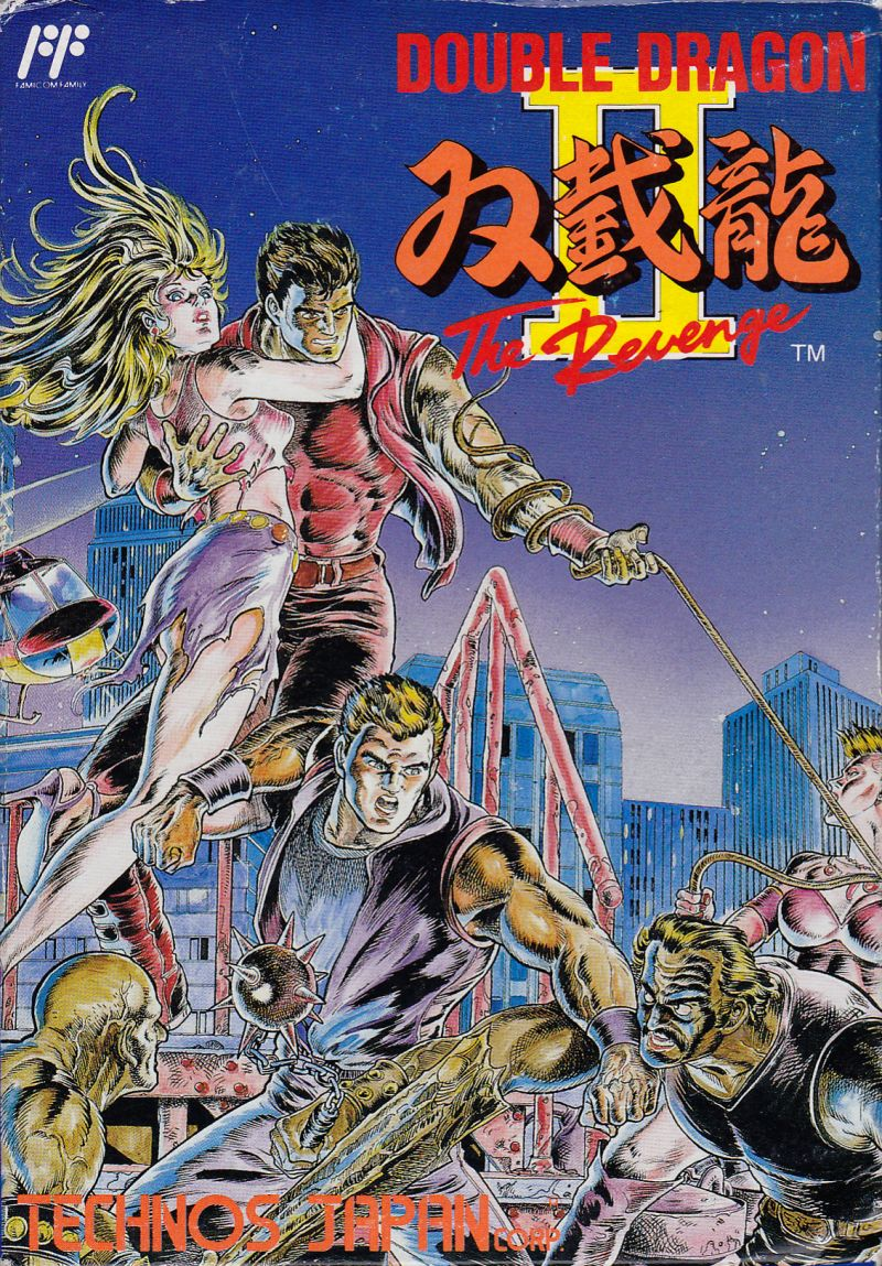 Double Dragon Ii The Revenge Nes Double Dragon Wiki Fandom