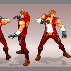 double dragon cartoon armor