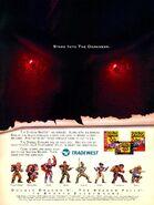 Double Dragon video game print ad NickMag Dec Jan 1995
