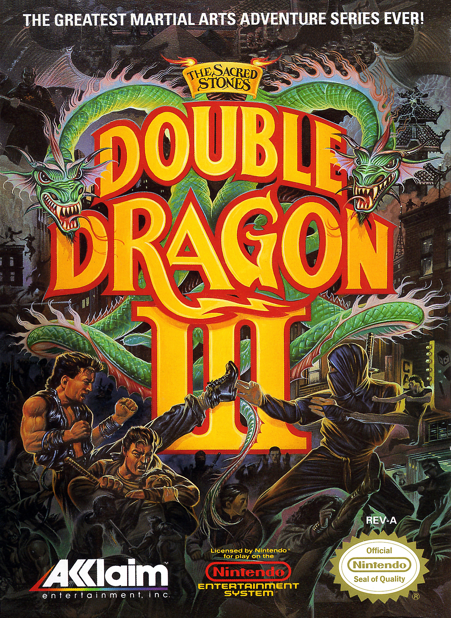 Double Dragon Iii The Sacred Stones Double Dragon Wiki Fandom