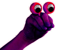 Finger-eyes