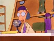 Mr. Bone backwards hat