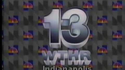 WTHR Channel 13 Indianapolis sign off - 1987