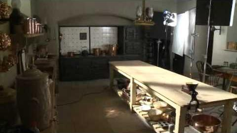 Alastair Bruce's downstairs tour of Downton Abbey set TV Latest News.