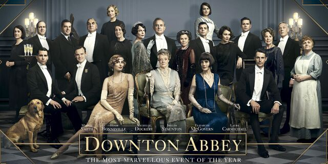 Downton Abbey movie marvelous event promo