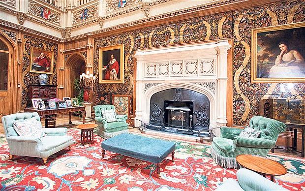 Great Hall Downton Abbey Wiki Fandom Powered By Wikia